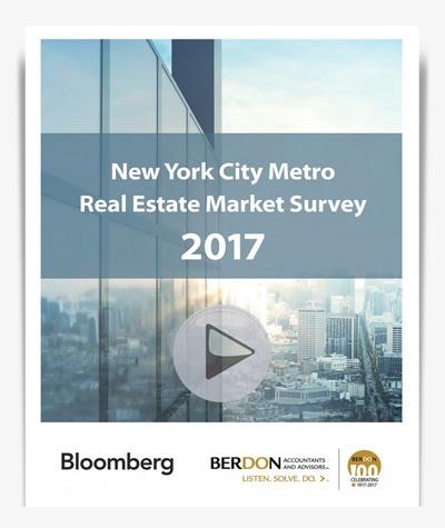 Berdon 2017 NYC Metro Real Estate Market Survey