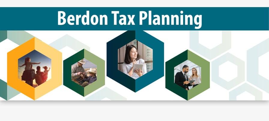 Berdon Tax Planning