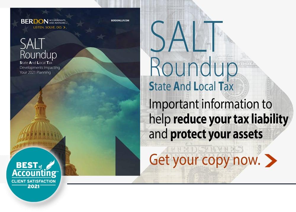 Berdon-SALT-roundup-reduce your tax liability-protect your assets
